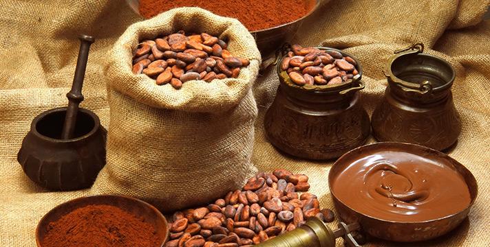 Cacao e cioccolato proprieta nutritive, valori nutrizionali e benefici per la salute