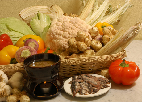 Bagna càuda tre semplici ingredienti olio aglio e acciughe