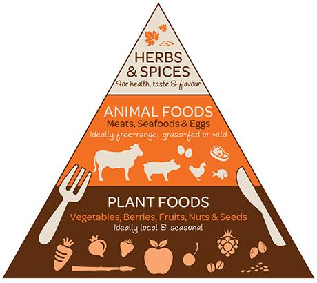 Piramide alimentare paleo
