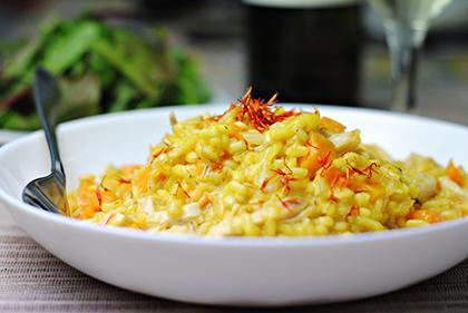 Zafferano, uso in cucina e ricette