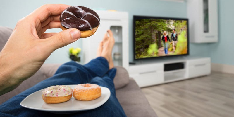 Televisione e diete. il legame che ha un impatto determinante sulla salute: il movimento come antodoto
