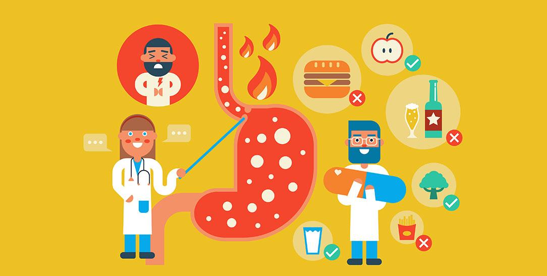 Reflusso gastroesofageo, cause, diagnosi, farmaci, dieta e cibi da evitare