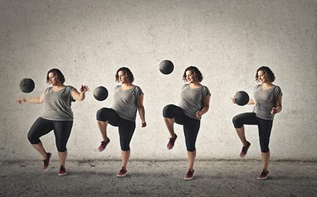Adiponectina e sensibilità all'insulina, dimagrimento e salute, aumento della concentrazione con l'attività fisica