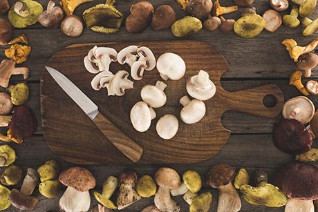 I funghi e la salute, le proprietà nutritive e l'uso in cucina